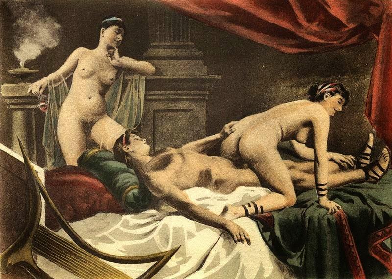 эротика в древнем мире картинки ведь