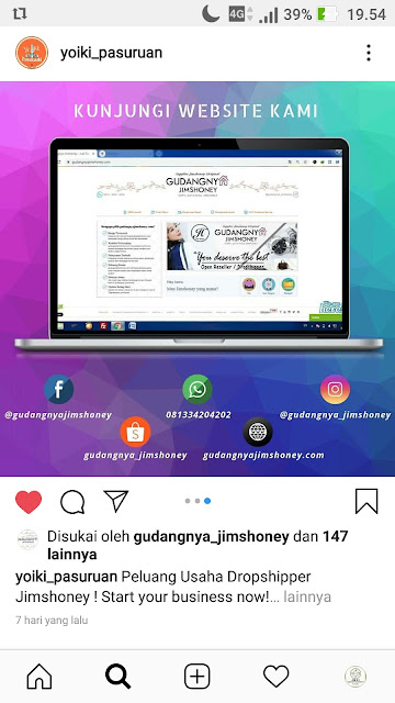 Jims Honey Instagram @yoiki_pasuruan