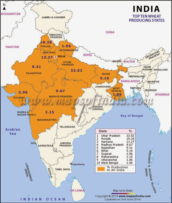 agriculture map of india class 10 Ncert Solutions For Class 10th Ch 4 Agriculture Geography agriculture map of india class 10