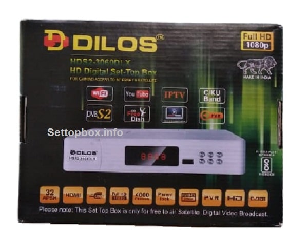 Checking Dilos HDS2-3060DLX Set-Top Box Specifications, Price