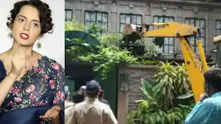 kangana ranaut send a legal notice to the bmc asking demanding rs 2 crore for damage compensation