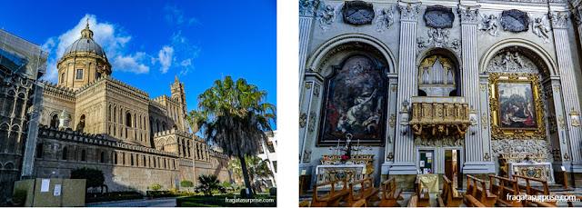 Catedral de Palermo e Igreja de Santa Maria della Pietà