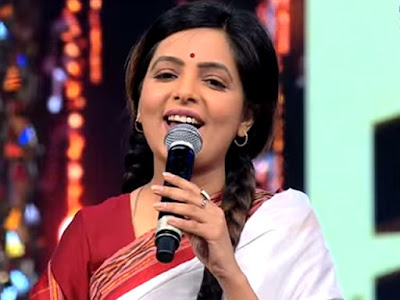 Indian Television Presenter