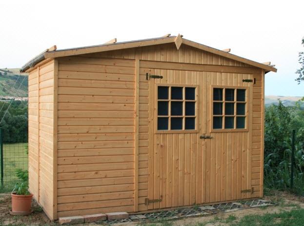 Costruire casetta di legno per il giardino il fai da te for Case semplici della casetta di legno