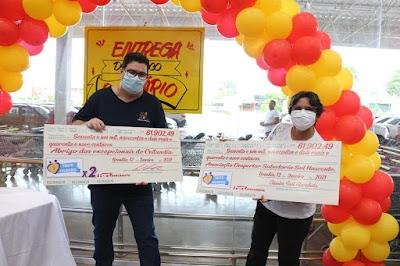 Fort Atacadista por meio do Troco Solidário entrega mais de R$ 123 mil para instituições de caridade no DF
