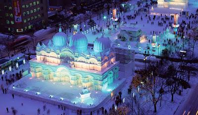 Festival Musim Dingin Sapporo Matsuri Jepang