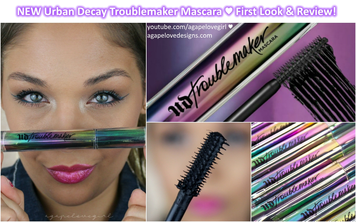 45079a65bd0 NEW Urban Decay Troublemaker Mascara. *affiliate links used in this post*.  Hello beauty babes and welcome! Today I've just got a super quick & simple  look ...