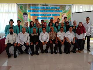 Penerimaan KKN dan DPL KKN Lentera Borneo oleh Pemkab Sambas