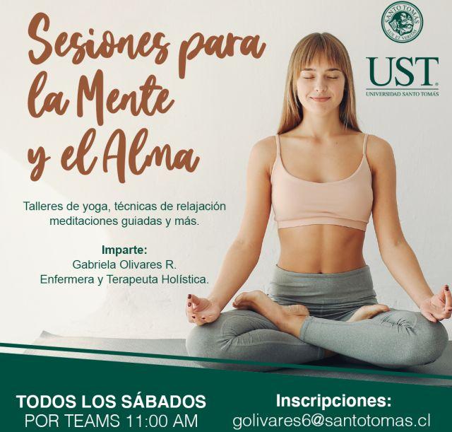 UST realizará sesiones gratuitas de yoga y meditación online