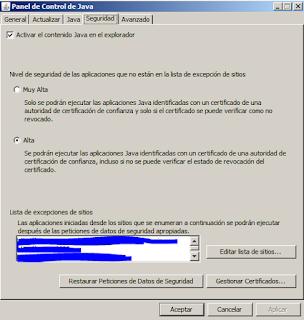 panelcontrol Java