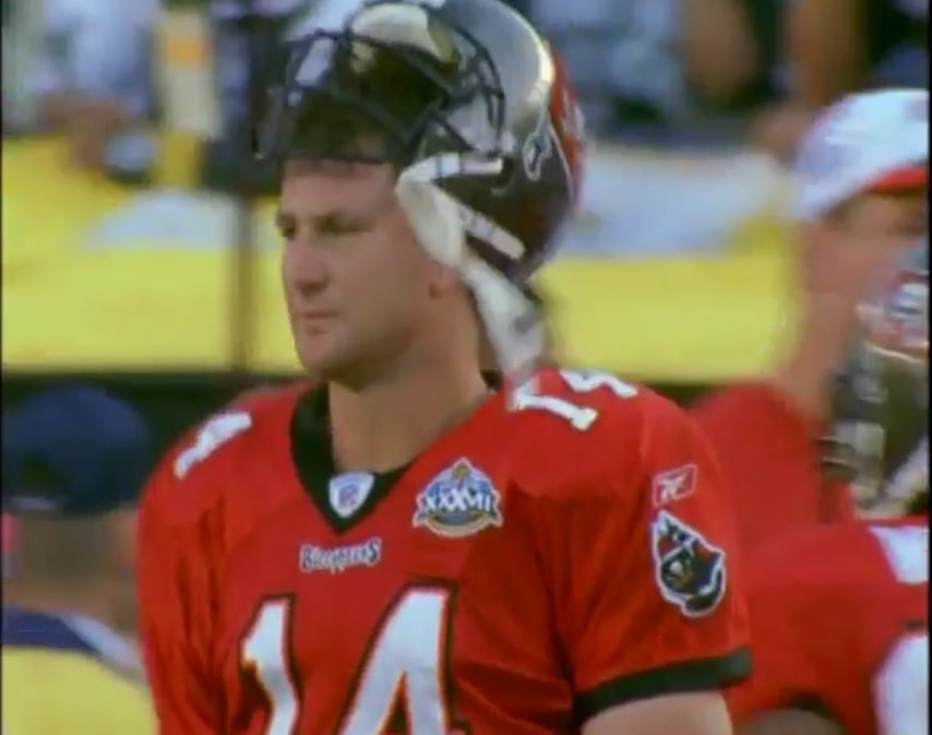 Brad Johnson Tampa Bay Buccaneers