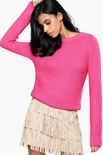 Nush Womens Knitted Pattern Sweater