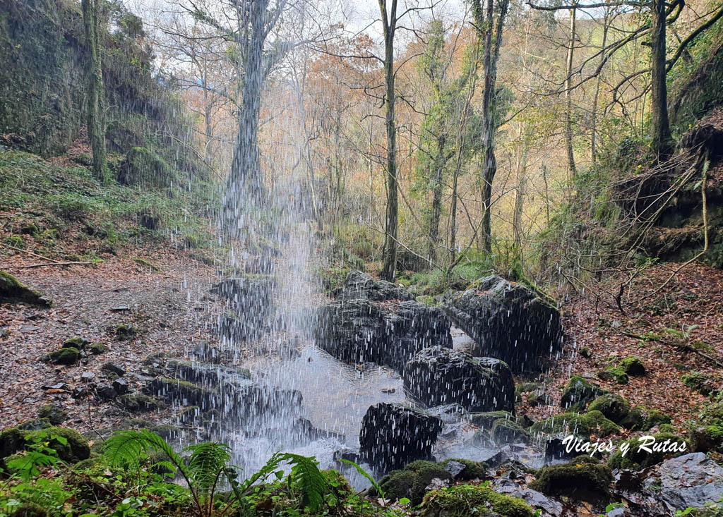 Cascada del Pímpano, Asturias