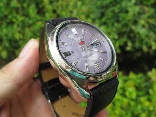 Jam Tangan Vintage Seiko 7009-8140 Automatic Bekas Mulus Kolektor Item