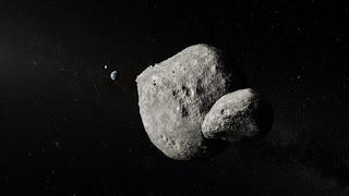 Captan una impresionante fotografía de un asteroide doble que pasó cerca de la Tierra.