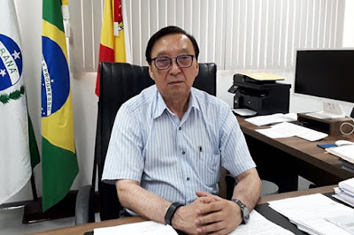 Entrevista foi realizada no gabinete de Hossokawa, em 13 de janeiro – Foto: Luiz Fernando Cardoso/Café com Jornalista