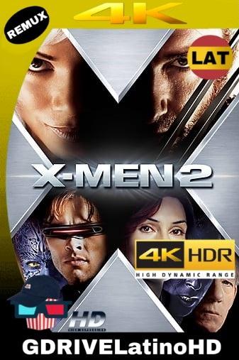 X-Men 2 (2003) BDRemux 2160P 4K HDR LAT-ING-CAS MKV