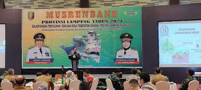 Ketua DPRD Lampung Hadiri Musrenbang RKPD Tahun 2022
