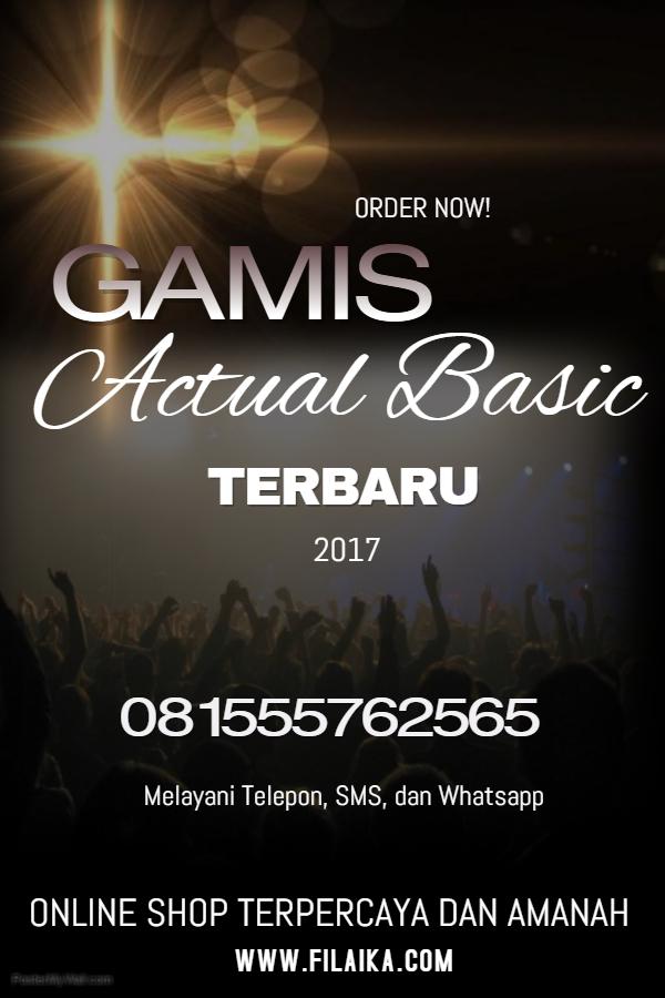 Gamis Actual Basic Terbaru 2017