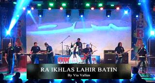 Lirik Lagu Ra Ikhlas Lahir Batin (Dan Artinya) - Via Vallen