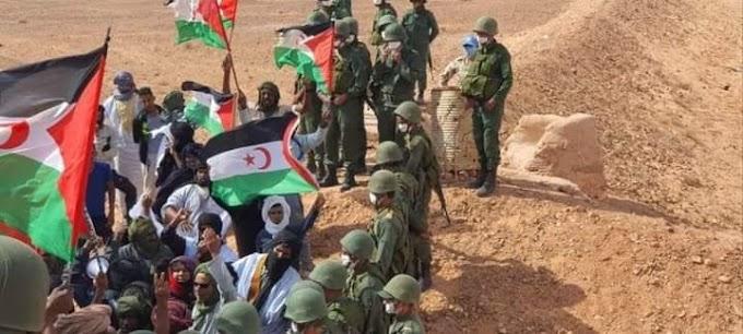 تضامن إيطالي مع المطالب المشروعة للمتظاهرين الصحراويين بإغلاق الثغرة غير القانونية في الگرگرات.