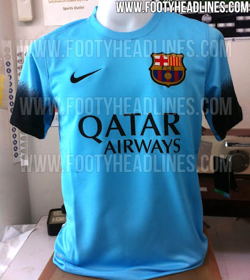 d89ff327f Leaked  Barcelona s third kit for the 2015-16 season  Pictures ...
