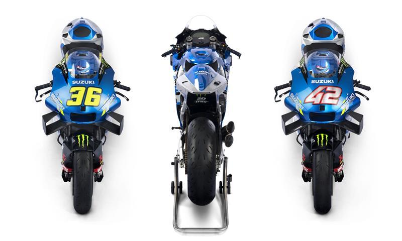 MotoGP : Tim Suzuki Ecstar resmi merilis livery 2021