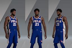 NBA 2K20 Joel Embiid Cyberface and Body Update by myth25 & Arteezy