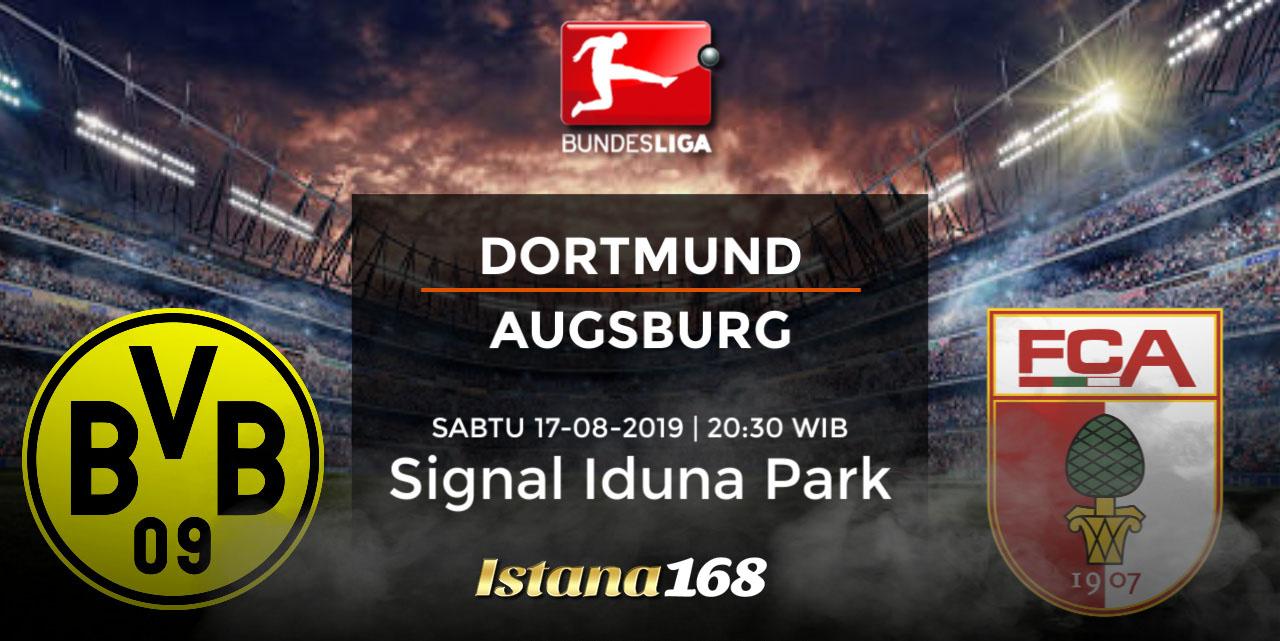 Prediksi Dortmund vs Augsburg 17 Agustus 2019