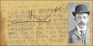 Albert Fish's Autograph