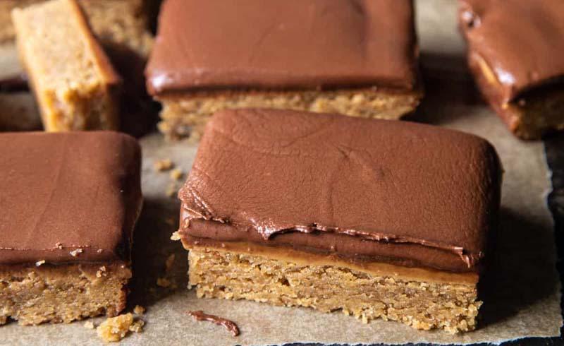 Lunchroom Chocolate Peanut Butter Bars