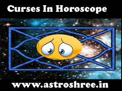 about Curses In Horoscope and astrology remedies