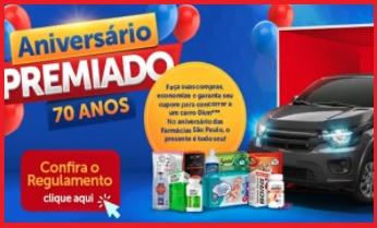 Aniversário 70 Anos Farmácias São Paulo