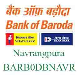 New IFSC Code Dena Bank of Baroda Navrangpura