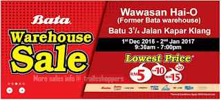 Bata Warehouse Sale 2016 2017