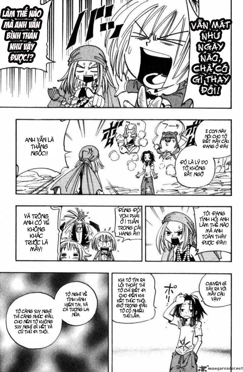 Shaman King [Vua pháp thuật] chap 51 trang 18