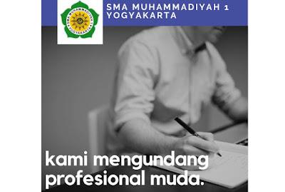 SMA Muhammadiyah 1 Yogyakarta Buka Lowongan Guru dan Pegawai