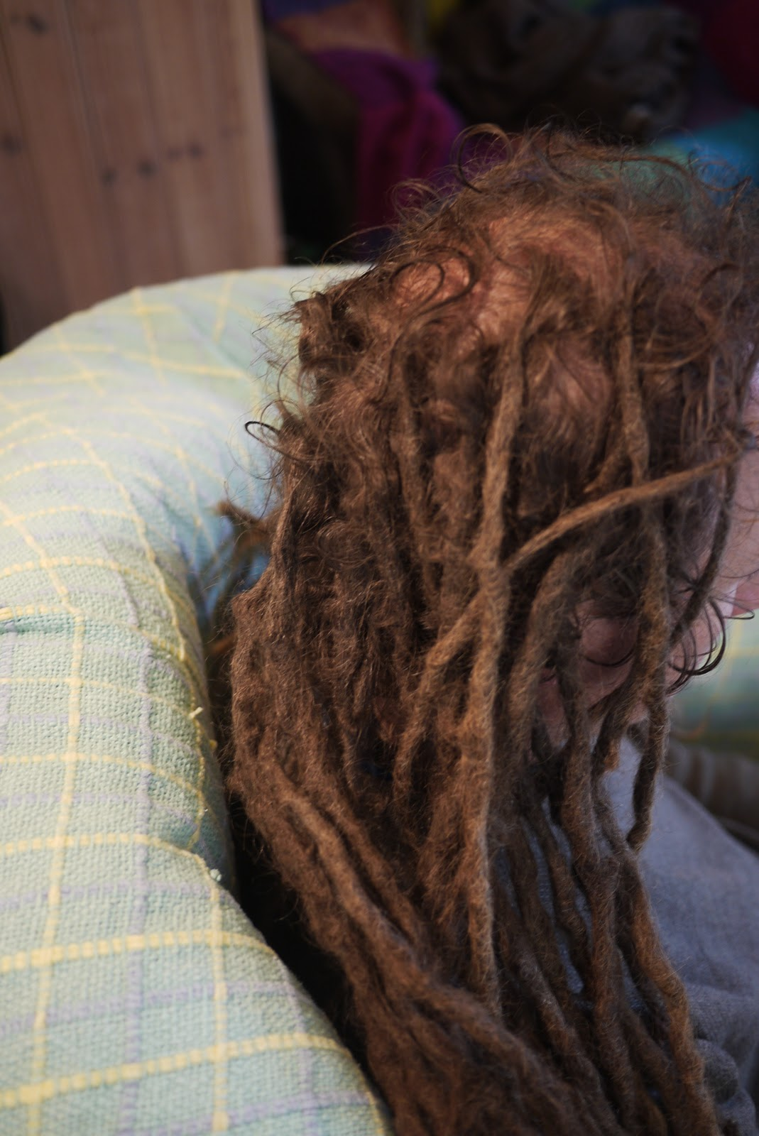 Locksworks Cutting And Maintenance Of 6 Year Old Dreads