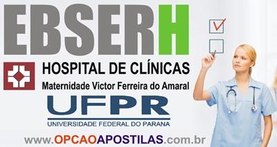Apostila Concurso EBSERH CHC-UFPR