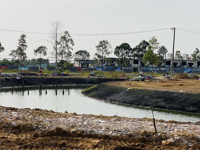 Tiến độ dự án KDC Minh Châu Sóc Trăng tháng 2/2021