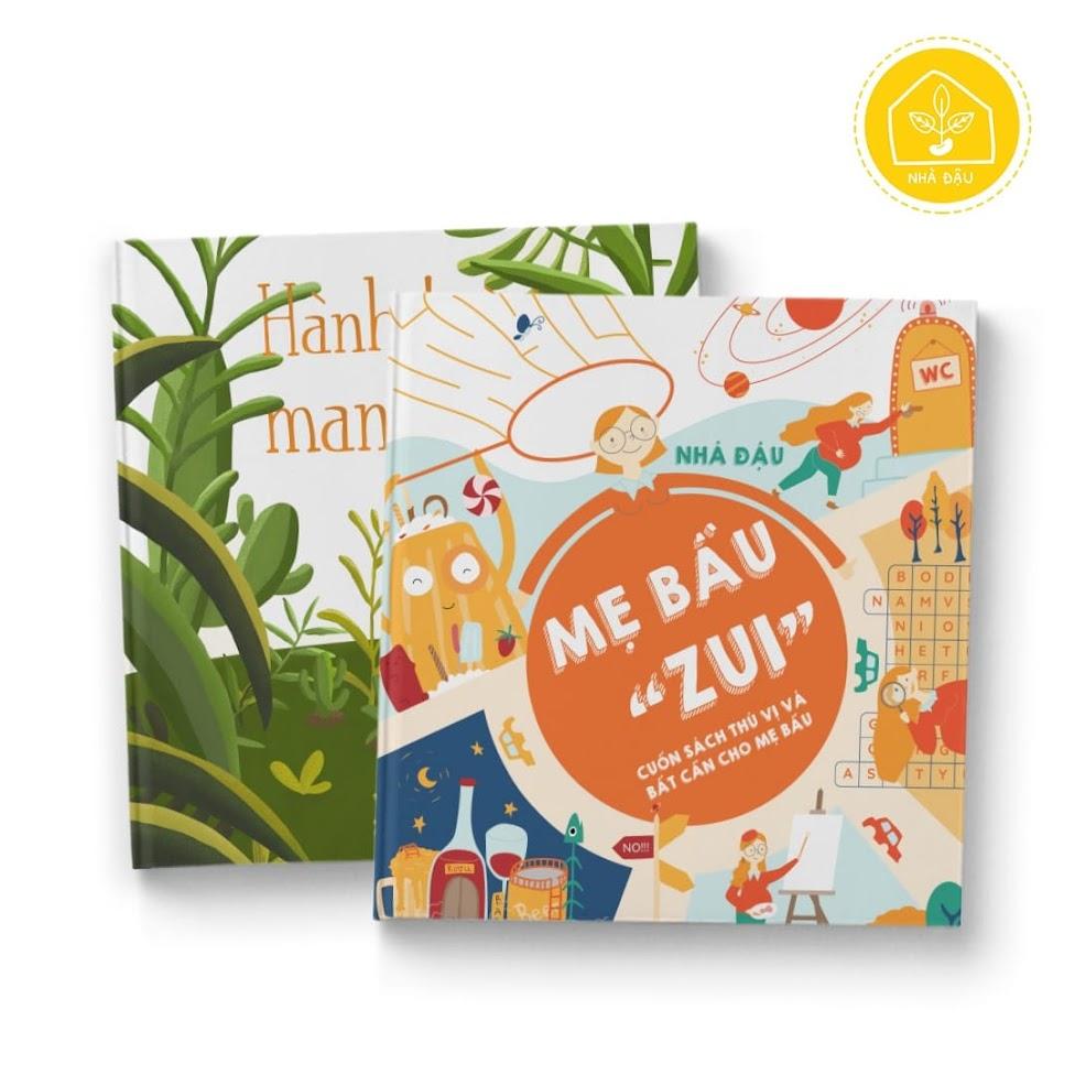 [A116] Activity book: Combo sách thai giáo kết nối tình cảm Mẹ và Bé