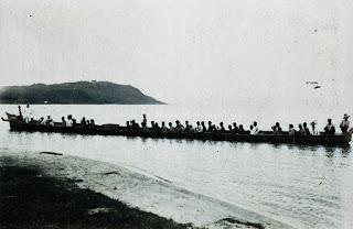 solu atau perahu kecil di danau toba