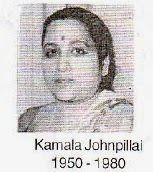 Kamala Johnpillai 1950 - 1980 Johnpulle