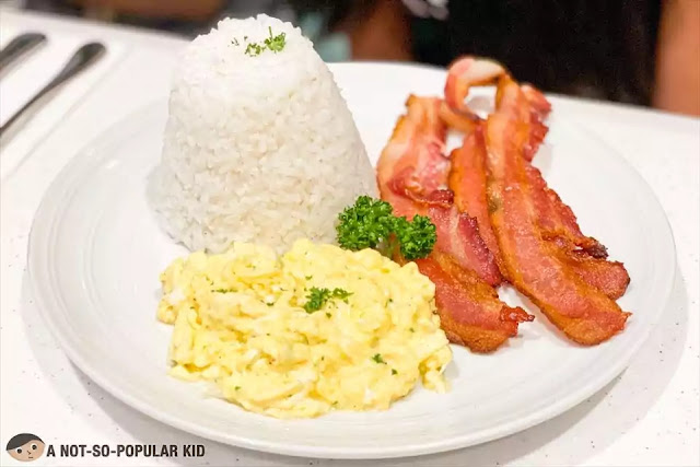 Classic Bacon and Eggs of Early Bird, Robinsons Manila