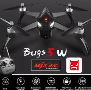 Kekurangan drone mjx b5w