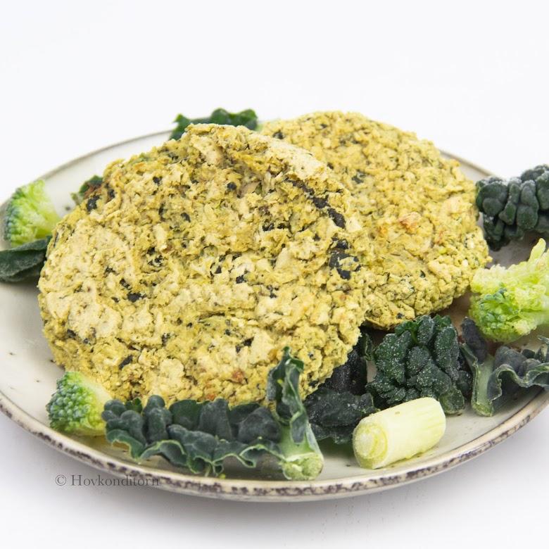Bean-Vegetable Burgers