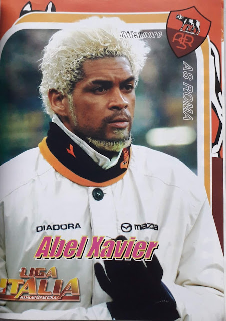 ABEL XAVIER AS ROMA DIFENSORE