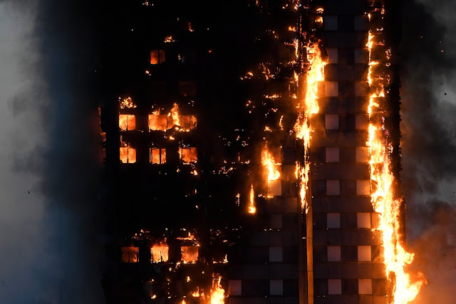Incêndio em prédio de Londres deixa vários mortos e 50 feridos