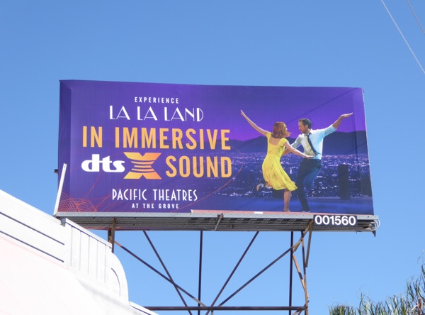 La La Land immersive sound billboard