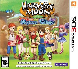 Harvest Moon Skytree Village 3DS ROM Decrypted - isoroms com
